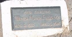 Wanda Marie Peterson