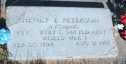 Henry Eugene Peterson