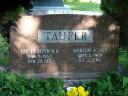 Dr Louis John Taufer