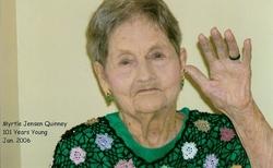 Myrtle Gertrude <I>Jensen</I> Quinney