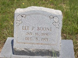 Lee Parker Boone