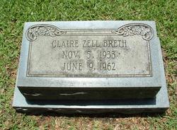 Mary Claire <I>Zell</I> Breth