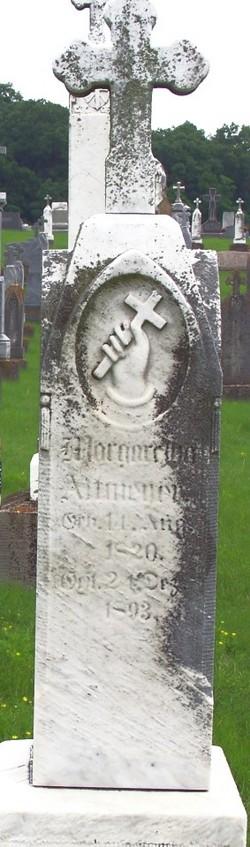 Margaretha <I>Hauser</I> Altmeyer