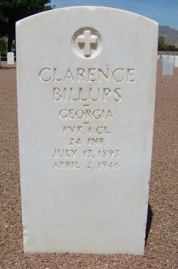 Clarence Billups