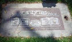 Anna Pearl <I>Jensen</I> McWhorter