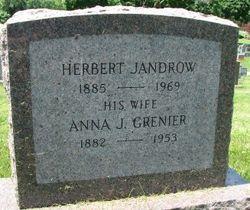 Anna Josephine <I>Grenier</I> Jandrow