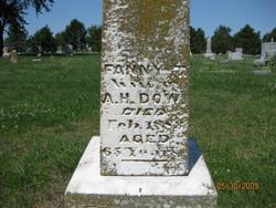 Fanny T <I>Ross</I> Dow