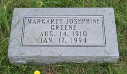 Margaret Josephine <I>Martin</I> Greene