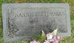 Nannie <I>Reese</I> Harris