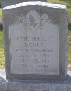 Hettie Goldie <I>Hobgood</I> Moore