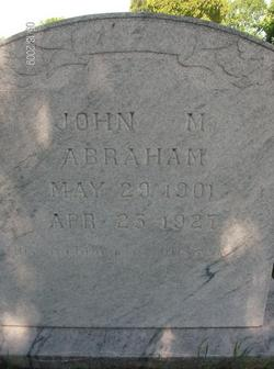 John M. Abraham