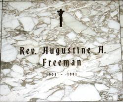 Rev Augustine A. Freeman