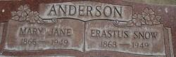 Erastus Snow Anderson