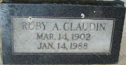 Ruby <I>Anderson</I> Claudin