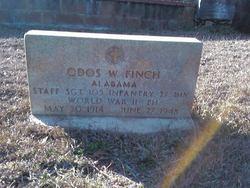 Sgt Odos W Finch