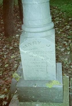 Mary Jane <I>Clark</I> Terhune