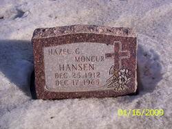 Hazel Afton <I>Goodrich Moncur</I> Hansen
