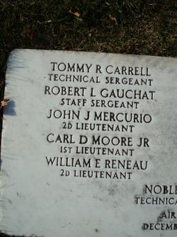 1LT Carl D Moore Jr.