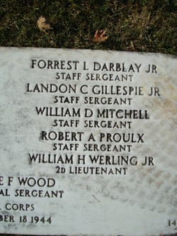 SSGT Landon C Gillespie Jr.