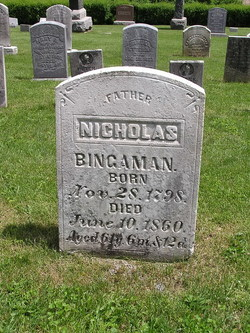 Nicholas Michael Bingaman