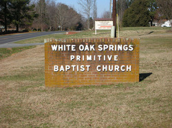 White Oak Springs Baptist Church Cemetery
