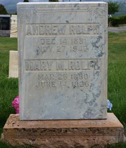 Mary Bodell <I>Madsen</I> Rolph