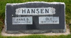 Anna Bell <I>Larsen</I> Hansen