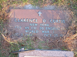 Pvt Clarence Dezell Curtis