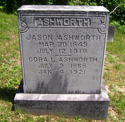 Cora Lee <I>Page</I> Ashworth
