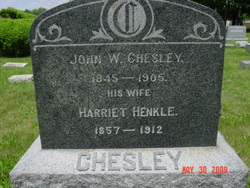 "Harriet ""Hattie"" <I>Henkle</I> Chesley"