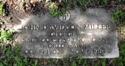 John Davidson Miller