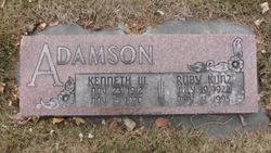 Ruby <I>Kunz</I> Adamson