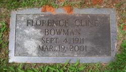 "Florence ""Florrie"" <I>Cline</I> Bowman"
