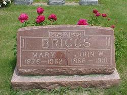 Mary Anna Elizabeth <I>Smoke</I> Briggs