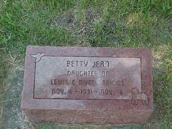 Betty Jean Briggs