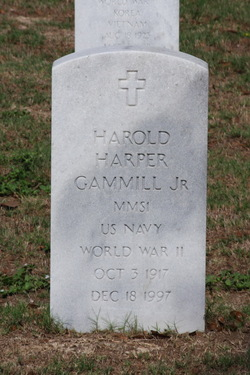 Harold Harper Gammill, Jr
