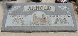 Martha Ruby <I>Jensen</I> Arnold
