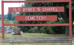 Old Bybee Cemetery