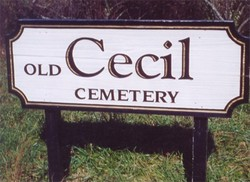 Old Cecil Cemetery