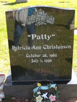 "Patricia Ann ""Patty"" <I>Gonzales</I> Christensen"