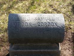 Sarah Jane <I>Dale</I> Gordon