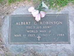 Albert G Robinson