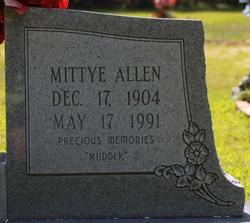 Mittye <I>Allen</I> Campbell