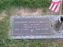 """Adelbert Rollo """"Bert"""" Briggs"""