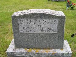 Katharine M <I>Lewis</I> Leavitt