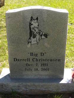 """Darrell Wayne """"Big D"""" Christensen"""
