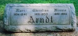"Christian Carl ""Christ"" Arndt, Sr"