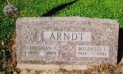 "Christian Carl ""Christ"" Arndt, Jr"
