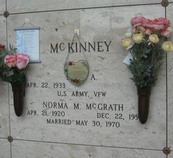 Norma M <I>McGrath</I> McKinney