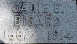 """Sarah E """"Sadie"""" <I>Miller</I> Bisard"""